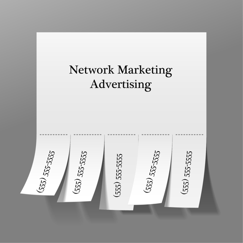 Network Marketing Advertising